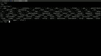 python tutorial about Invoke the built-in help system with python's dir and help methods