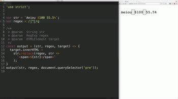 js tutorial about Javascript Regular Expressions: Use Shorthand to Find Common Sets of Characters