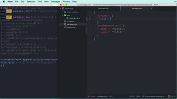 js tutorial about JavaScript Testing Fundamentals: Hello world unit test with Mocha (in ES6)