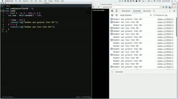 js tutorial about Using console.count to Count Events