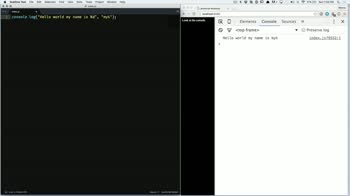 AngularJS tutorial about Advanced Console Log Arguments