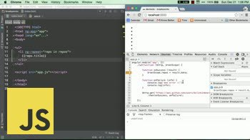 js tutorial about Editing breakpoints in Chrome devtools