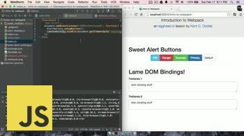 js tutorial about Intro to Webpack