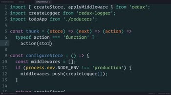 AngularJS tutorial about Redux: Dispatching Actions Asynchronously with Thunks