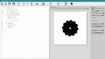 js tutorial about Shape Objects in GIF Loop Coder