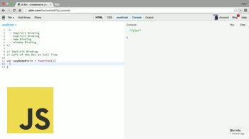 """AngularJS tutorial about The """"this"""" keyword: Introduction and Implicit Binding"""