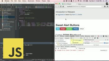 js tutorial about Webpack CSS, Preprocessors, and url assets