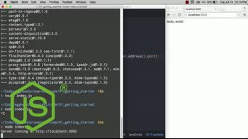 AngularJS tutorial about Getting Started with Express - Up and Running