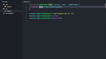 typescript tutorial about Restrict null and undefined via Non-Nullable-Types in TypeScript