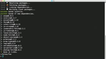 npm tutorial about Pin Down NPM Package Versions with Yarn.lock