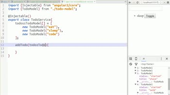 AngularJS tutorial about Using Array ...spread to enforce Pipe immutability.