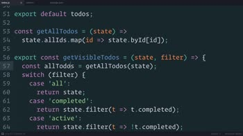 js tutorial about Redux: Normalizing the State Shape