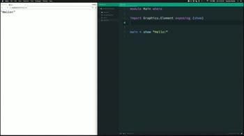 elm tutorial about Create your first web page with Elm