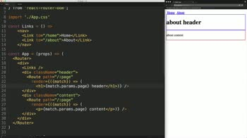 react tutorial about Render Multiple Components for the Same Route in React Router v4