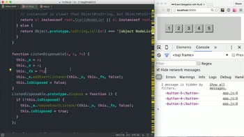 AngularJS tutorial about Event Delegation with RxJS
