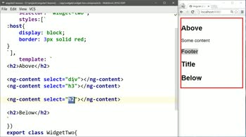 angular2 tutorial about Select From Multiple Nested Angular 2 Elements