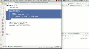 AngularJS tutorial about Services, Factories, and Providers: Creating a Value Object