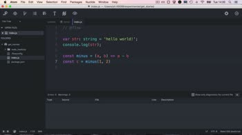 react tutorial about Setup Nuclide to use Flow and Eslint (Mac)