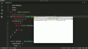 Setup React Native Video for iOS and Android from