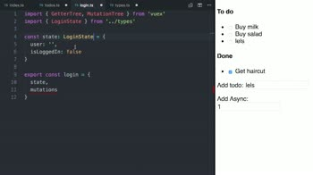 Vue js State Management with Vuex and TypeScript from