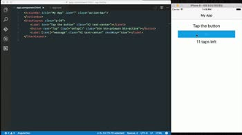 angular2 tutorial about Style NativeScript views using the default core theme