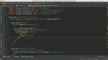 AngularJS tutorial about Test an Angular Component with $componentController
