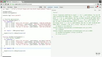 javascript tutorial about The JSON.parse API