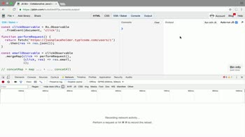 AngularJS tutorial about Use RxJS concatMap to map and concat high order observables