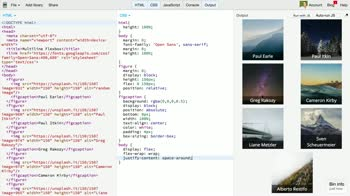 AngularJS tutorial about Turning a flexbox into a grid using flex-wrap and align-content