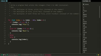 typescript tutorial about Coding interview: FizzBuzz problem and its solution