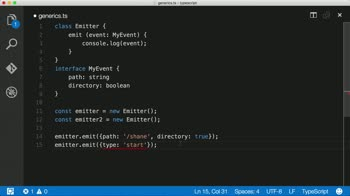 AngularJS tutorial about Introduction to Generics in Typescript