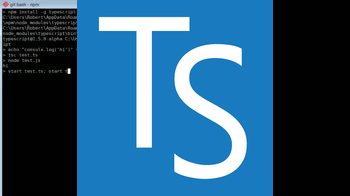 typescript tutorial about TypeScript Up and Running in Seconds
