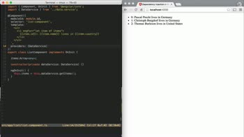 AngularJS tutorial about Understanding Providers