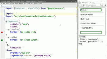 AngularJS tutorial about Use RxJS Streams with Angular 2 Forms