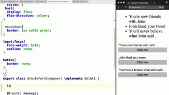 AngularJS tutorial about Apply CSS Classes Conditionally with Angular 2's ngClass