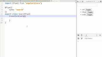 AngularJS tutorial about Using Pipes to Filter Data