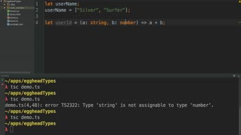 typescript tutorial about Using Type Inference in TypeScript