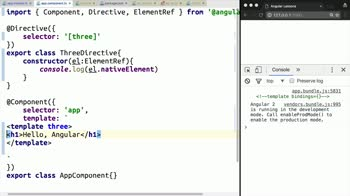 angular2 tutorial about Write a Structural Directive in Angular 2