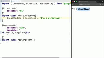 angular2 tutorial about Write an Angular 2 Directive