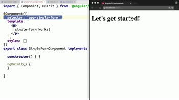 angular tutorial about Create a Simple Angular 2 Component