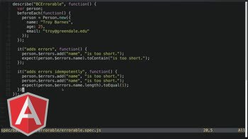 AngularJS tutorial about Errorable Mixin