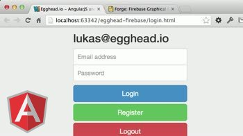 angularjs tutorial about Firebase Basic Authentication Part 2