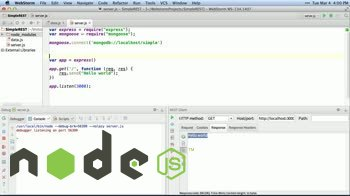 AngularJS tutorial about First API with Node.js, Express and MongoDB