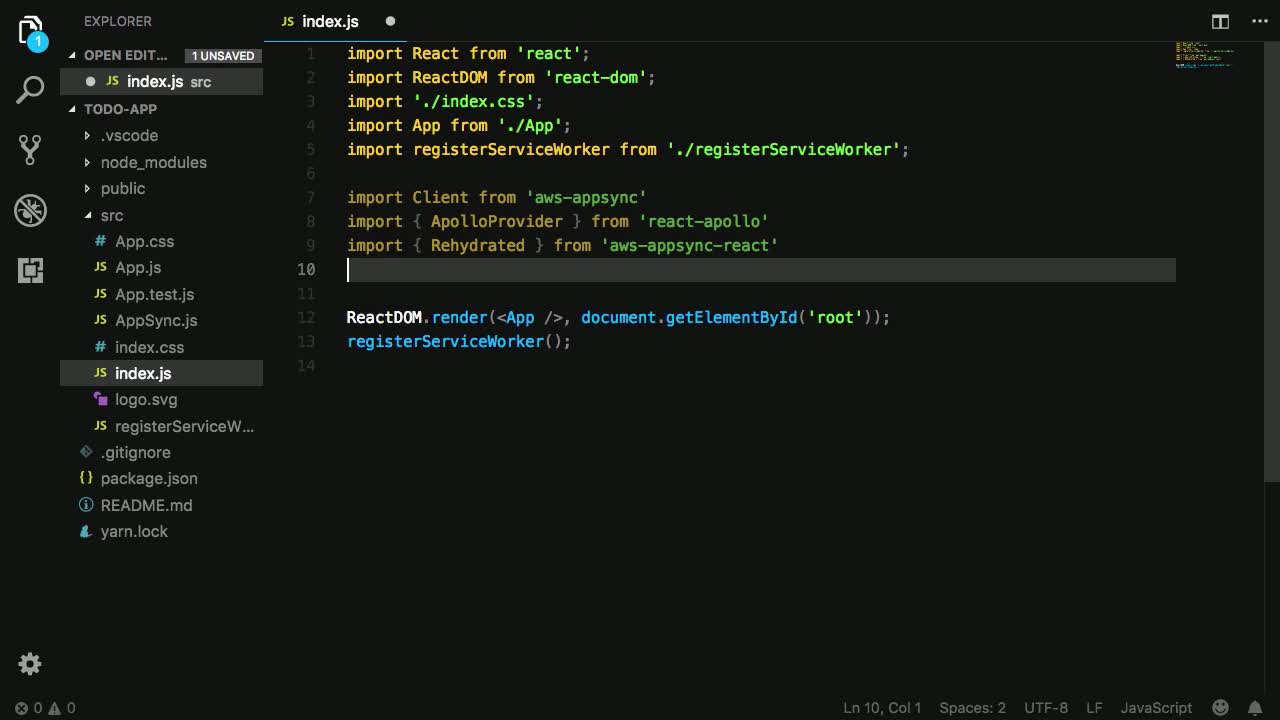 Scalable Offline-Ready GraphQL Applications with AWS AppSync