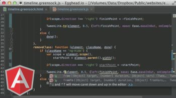 angularjs tutorial about Greensock TimelineLite Animation Sequences
