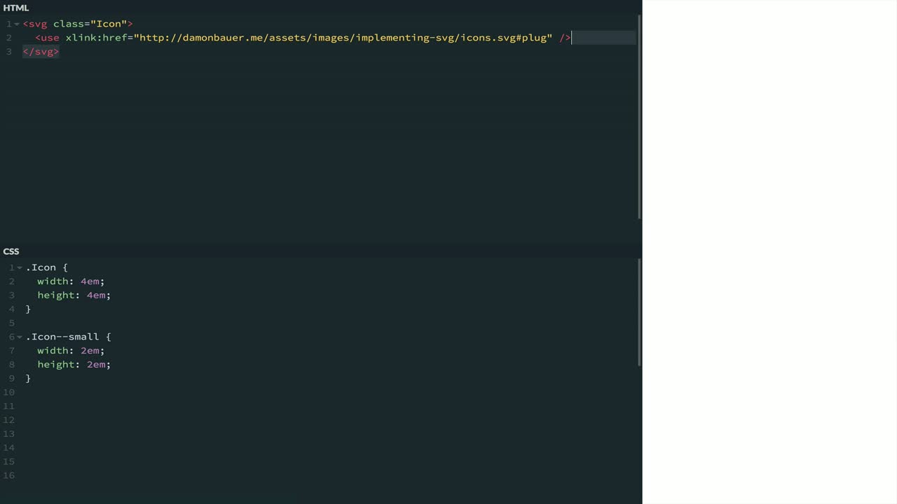 "html tutorial about Load an External SVG Inside a ""Use"" Tag"