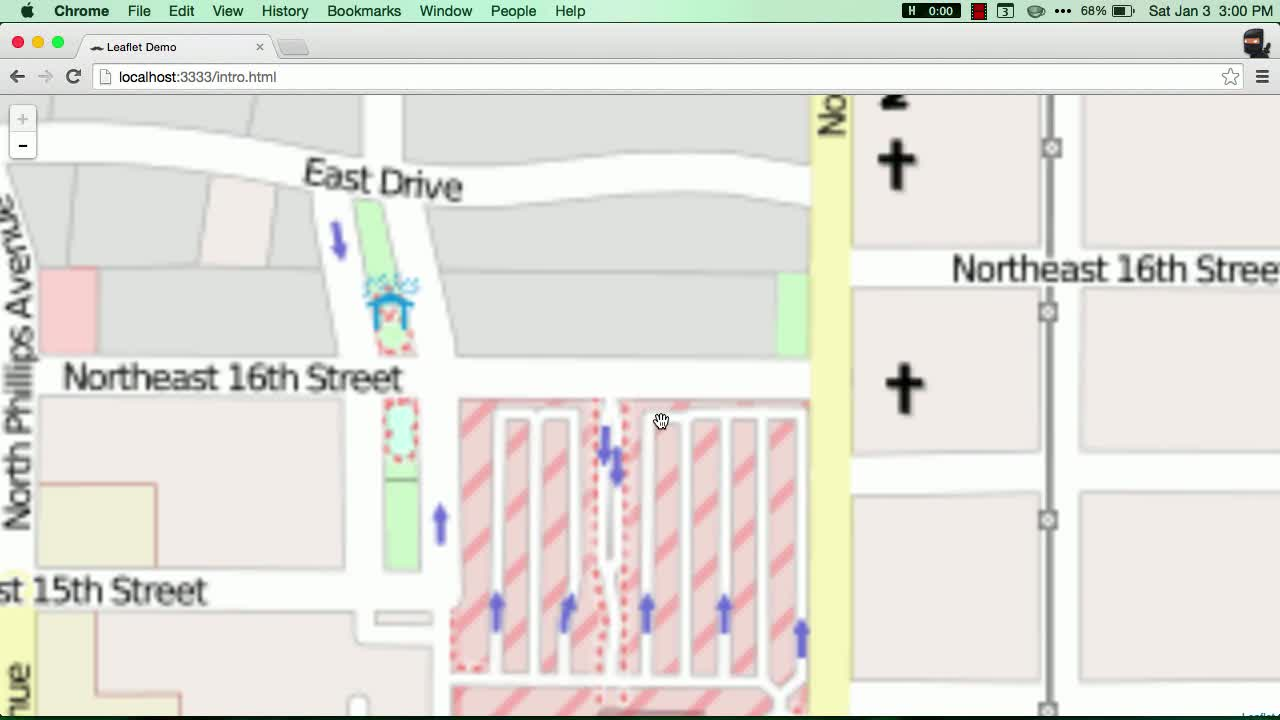 leaflet tutorial about Get Started with LeafletJS Mapping