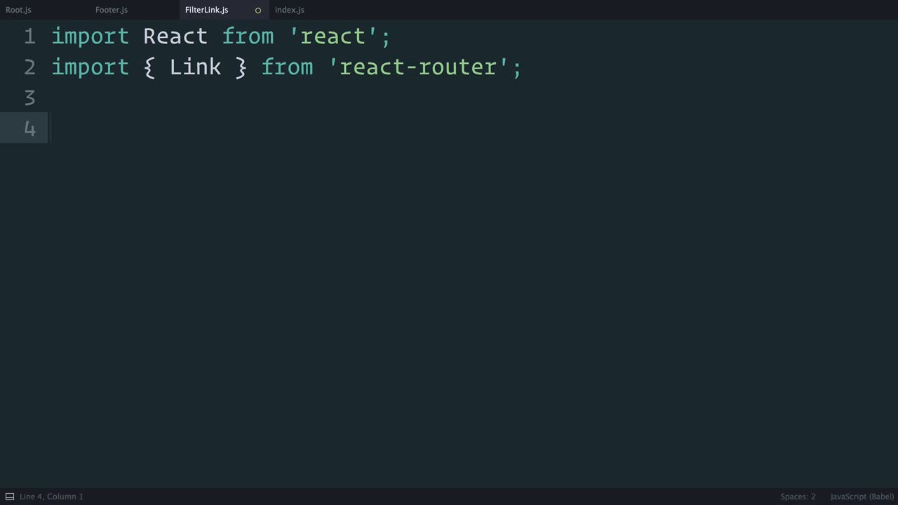 redux tutorial about Redux: Navigating with React Router <Link>