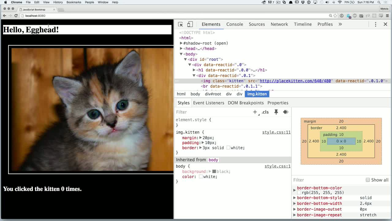 chrome-devtools tutorial about Chrome Devtools: Elements - Debug with Style!