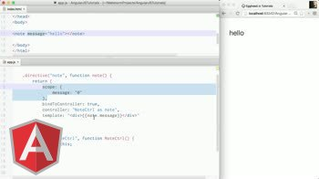 angularjs tutorial about New in Angular 1.3 - bindToController
